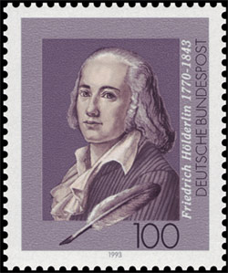 Hölderlin briefmark 1993