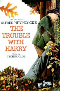 The trouble with Harry DVD