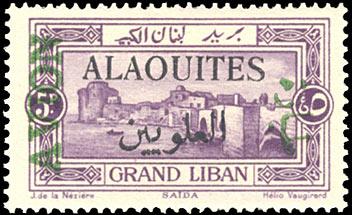 postzegel uit Syrië