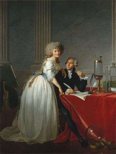 Echtpaar Lavoisier 1788