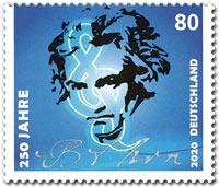Beethoven postzegel 2020