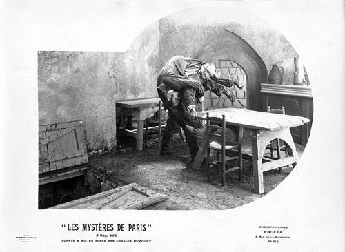les mysteres de Paris 1922