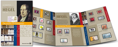Hegel briefmarke set 2020