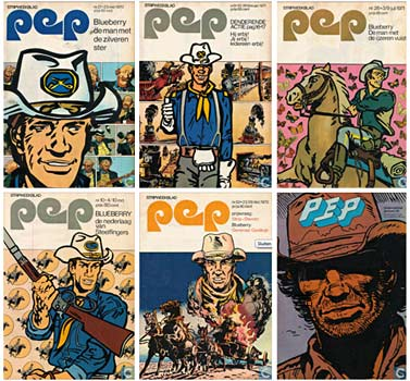 Pep covers 1970-1974
