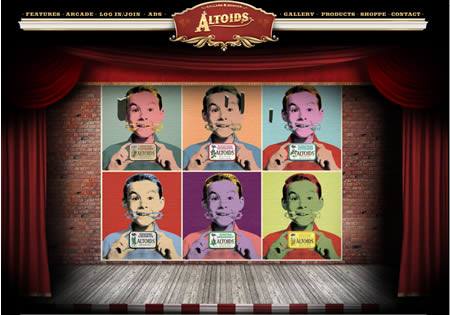 Altoids Flash site