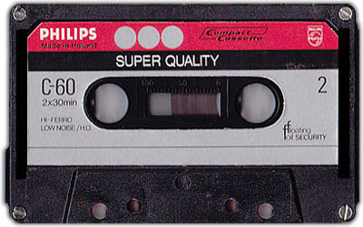 audiocassette van Philips