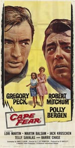Cape Fear filmposter 1962