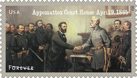 civil war stamp