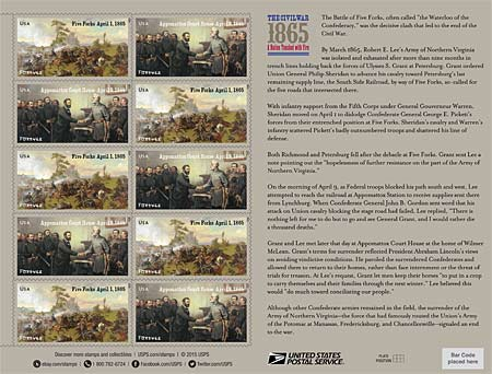 civil war stamps
