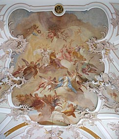 fresco in St. Nikolaus, Grossaitingen