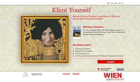 Klimt Yourself
