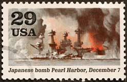 Pearl Harbor Stamp