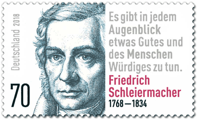 Schleiermacher Briefmarke