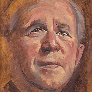 portret van George W. Bush