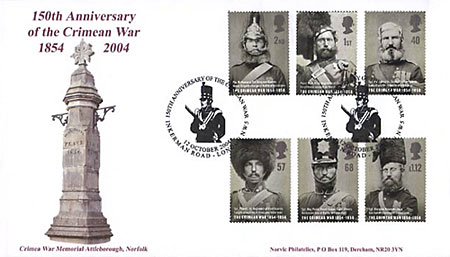 Crimean War FDC
