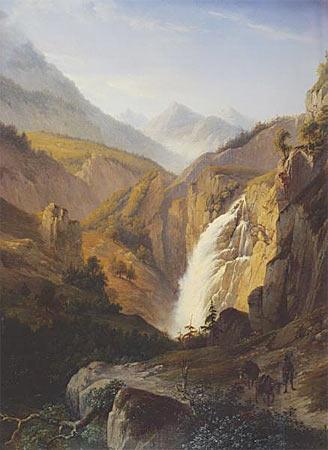 Natuur woest vredig for Schilderij natuur