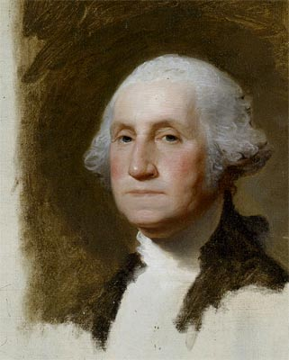 portret van George Washington